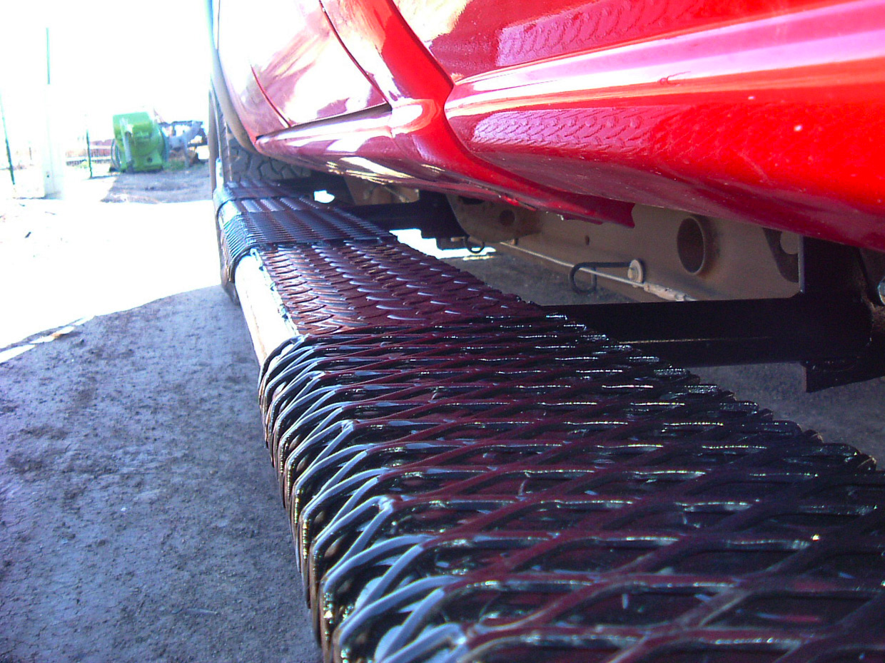 Pickup Truck Racks >> Tumbleweed-MFG: Running Boards