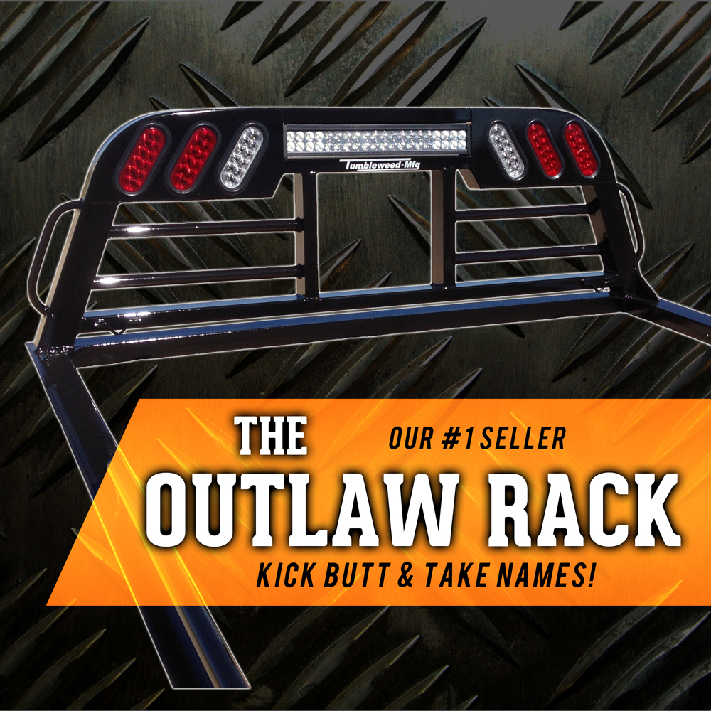 outlaw_headache_rack_full headache racks tumbleweed mfg headache rack wiring harness at bakdesigns.co