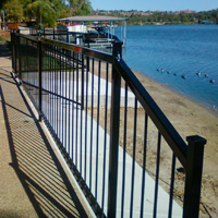 Ornamental Iron Fence #2 | Tumbleweed Mfg | Amarillo, TX