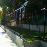 Ornamental Iron Fence #3 | Tumbleweed Mfg | Amarillo, TX