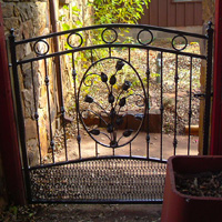 Ornamental Iron Gate #1 | Tumbleweed Mfg | Amarillo, TX